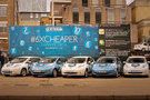 The World's Cheapest Taxi Rank, powered by Nissan LEAF